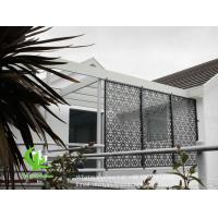 Best Aluminum perforated sceen for balcony with 3mm metal sheet with powder coated wholesale