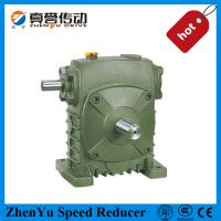 China High Torque Wps Helical Worm Gearbox Speed Reducer , Shaft Mounted on sale