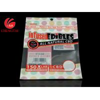 Best Custom Printing Three Side Seal Bag with Zipper / Food Packaging Zipper Pouch wholesale