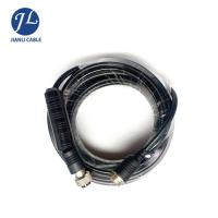Best Male To Male Rear View Camera Cable , 4 Pin Rear Backup Plug Aviation Reversing Camera Trailer Cable wholesale