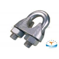 Best DIN741 Rigging Lifting Equipment Marine Hardware Fasteners Duplex Wire Rope Clip wholesale