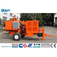China Overhead Stringing Tension Stringing Equipment Diesel 56kw 73hp Hydraulic Tensioner on sale