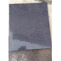 Buy cheap Dark grey black granite new G654 Padang Dark polished slab tile from wholesalers