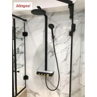 China AT-H005B thermostat controlled shower valves #304 SS  thermostatic bath shower system on sale