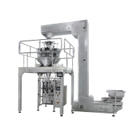 China TCLB-420AZ Automatic Multi head weigher 10 heads weighing Crunchy Peanuts Beans Cashew Nuts Packing Machine on sale