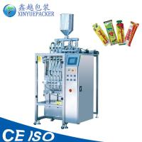 Best Capacity Increasing Stick Packaging Machines , Automatic Sauce Packaging Machine wholesale