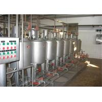 Turnkey Project Pasteurized Milk Processing Line , Homogeneous Sterilization Section