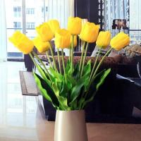 Best Wholesale Artificial Flowers Yellow Tulips wholesale