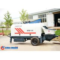 Best 260L Hydraulic Trailer Mounted Concrete Pump 31.5Mpa Pumping System Pressure wholesale