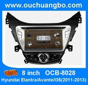 China Car media player for Hyundai Elantra /Avante /I35(2011-2013) with car bluetooth driver OCB-8028 on sale
