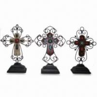Best Table Crosses in 3 Different Designs, Made of Polystone and Metal, Customized Designs Welcomed wholesale
