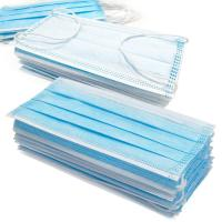 Best Anti Germs Disposable Surgical Mask , 3 Ply Disposable Blue Earloop Face Mask wholesale