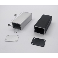 Best 35*26*80mm Divided Body Small Extruded Aluminum Enclosure wholesale