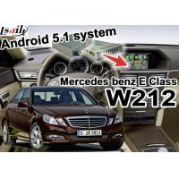Buy cheap Android GPS Car Multimedia Navigation System For Mercede benz E class W212 from wholesalers