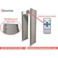 China Auditory / Visual Alarming Airport Security Detector 7'' LCD Display Easy Installation on sale