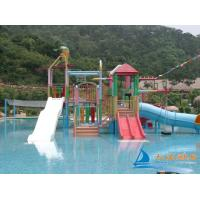Best 7m Amusement Park Water Playground Aquatic Play Structures Slides Equipment wholesale