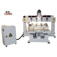 Best CA-1225 Best sale 4 axis rotary wood carving cnc router for sale wholesale