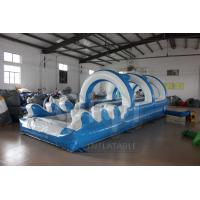 Best Double Lane Slip And Slide With Pool wholesale