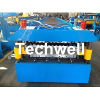 Best Custom and High Speed Double Sheet Roll Former / Roll Forming Machine With 18 Stations wholesale