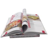 Best Professional Four Color Cooking Hardcover Cookbook Offset Printing wholesale