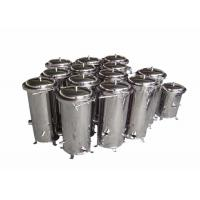Best Chemical Cartridge Liquid Filter Housings 10 Inch For Wound Filter / Meltblown Filter wholesale