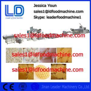 Best Puffed food / Breakfast cereals 3D Snack Pellet Machinery , 100kg/h - 300kg/h wholesale