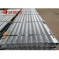 Best 2mm Round Hole Grip Strut Galvanized Steel Grating For Stair Platform EN Standard wholesale