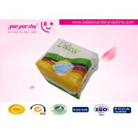 Best Ultra Thin Soft Cotton Sanitary Pads With Anion Herbal Chips OEM / ODM Acceptable wholesale