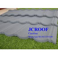 Best ISO9001 Certificate Stone Coated Roofing Tiles Milano Type for Country House wholesale