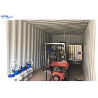 Best Reverse Osmosis Mobile Water Treatment Equipment , Water Purify Treatment Plant  ISO Approval wholesale