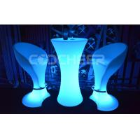 China Remote Led Bar Furniture Durable led chairs and tables wholesale