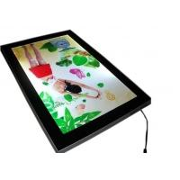 China 15mm Thickness Poster Aluminum Light Box DisplaysWith Magnetic Open Front Panel on sale