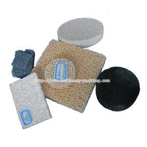 China Foam Ceramic Filter on sale