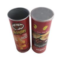 Best Potato Chips Packing Food Grade Tube Packaging Kraft Paper Cylinders wholesale