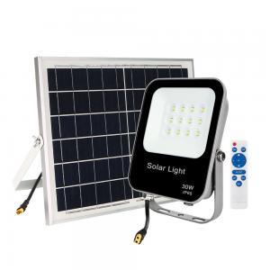 China 167.5*194.5*35mm 30W 5kg Led Solar Floodlight on sale