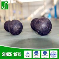 Grinding Media Forged Steel Ball For Ball Mill Machinery , cement plant , power plant