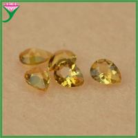Best Cheap Wholesale Charming loose pear shape cut natural yellow topaz gemstone price wholesale