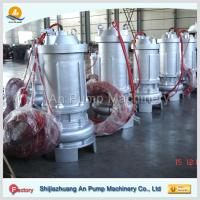 Best waste water treatment submersible sewage pump wholesale