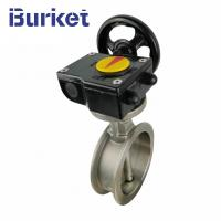 Best Good Price High Quality Wafer stainless steel 8 inch worm manual butterfly valve Ductile wholesale