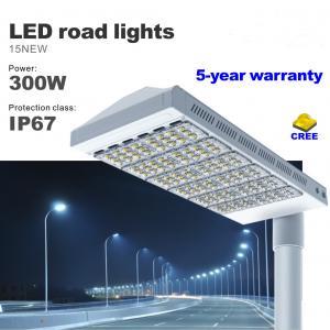 Best 300 Watt LED Street light CREE SMD Bulbs city road lighting IP67 AC85-277V lamp wholesale