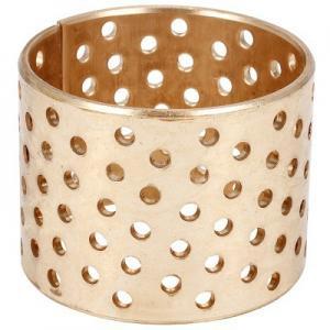 Best Perforated 60x65x50mm Bronze Plain Bearing Cusn8 Collar Bush wholesale