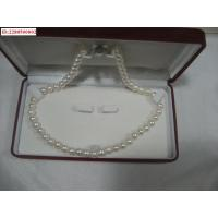China 2011 New Fresh Water Pearl Necklace White AAA on sale