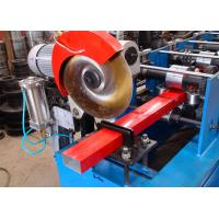 China Rain Gutters Installation Downspout Roll Forming Machine TUV Approval on sale