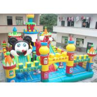 Best Outdoor Inflatable Amusement Park / Children Playground Equipment For Kids wholesale