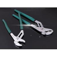 Best KM Industrial Grade CRV groove box joint pliers with Dipped plastic handle wholesale
