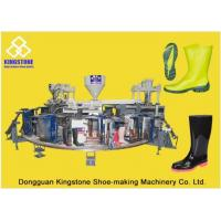 Best Automatic Plastic Shoes Injection Molding Machine For Rain Boots / Gumboots wholesale