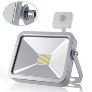 Best 50W Cool White Outdoor LED Flood Lights With PIR Motion Sensor for Garden Lighting wholesale