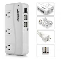 China 200W Travel Power Converter 220V to 110V With 4 ports Smart USB Charger on sale