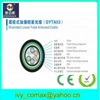 Best double jacket and double armored direct burial fiber cable gyta53 wholesale