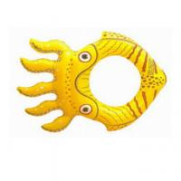 Best New style fashion octopus inflatable ring, pvc water ring for kids wholesale
